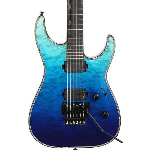 ESP / LTD Deluxe H-1001FR - Violet Shadow Fade