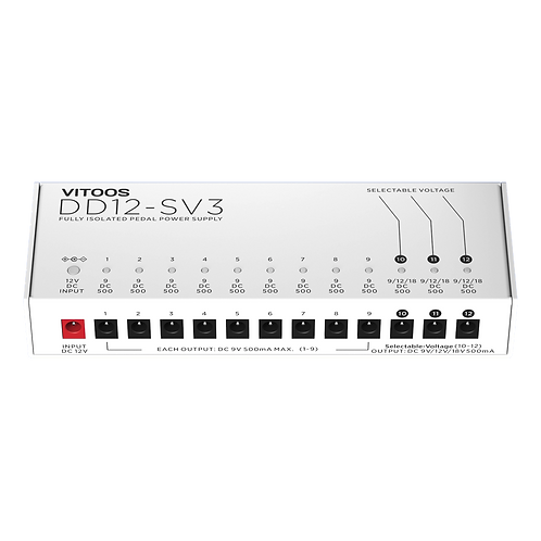 VITOOS DD12-SV3 (12 OUTPUTS) Power Supply