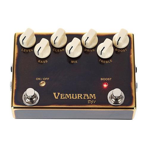 Vemuram DJ1 Bass Overdrive / Distortion