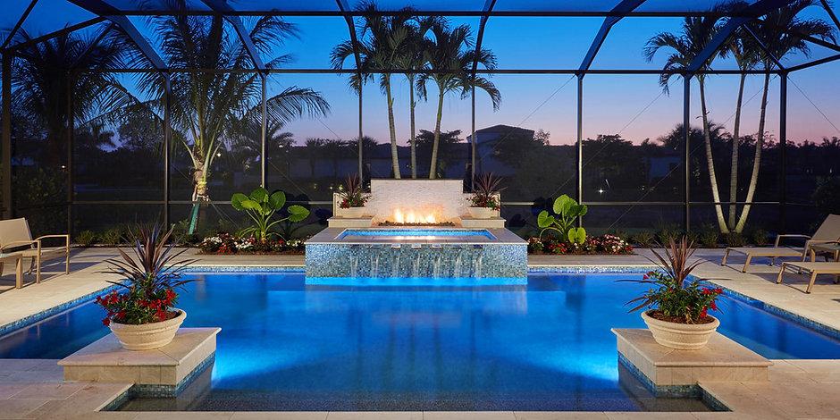 16763 Cabreo Dr Naples FL - Pool(dusk).jpg
