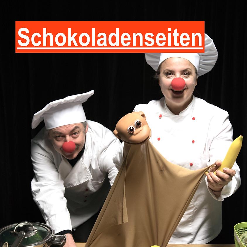 SCHOKOLADENSEITEN  Küchen-Schoko-Krimi für Menschen von 6 bis 96