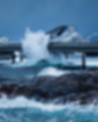Hustadvika and the Atlantic road in Norway offers dramatic winds and sceneries during the Thomas Eckhoff Classic Norway photo-workshops