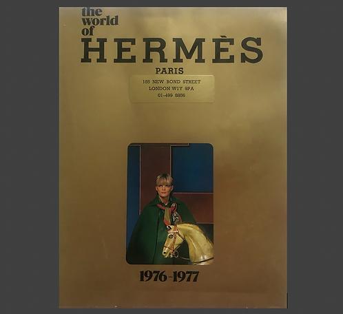 THE WORLD OF HERMES 1976-1977  ANGLAIS