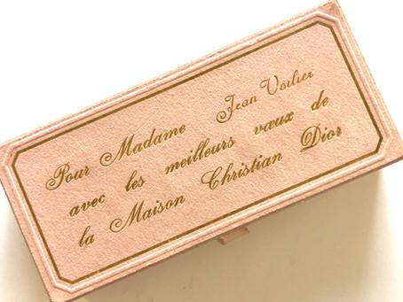 Diorissimo •Un parfum pour Jean Voilier • La femme qui a rendu fou Paul Valéry