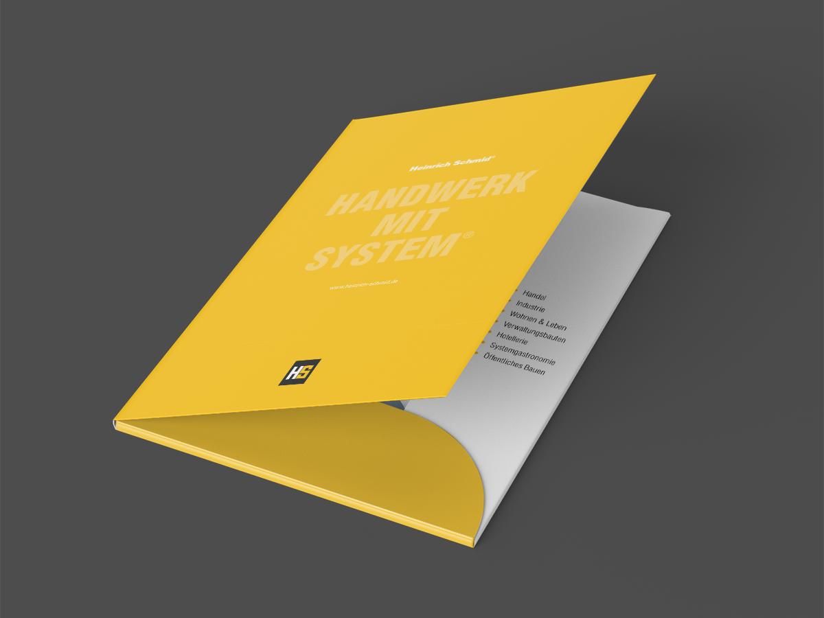 Heinrich Schmid – Kundenmappe