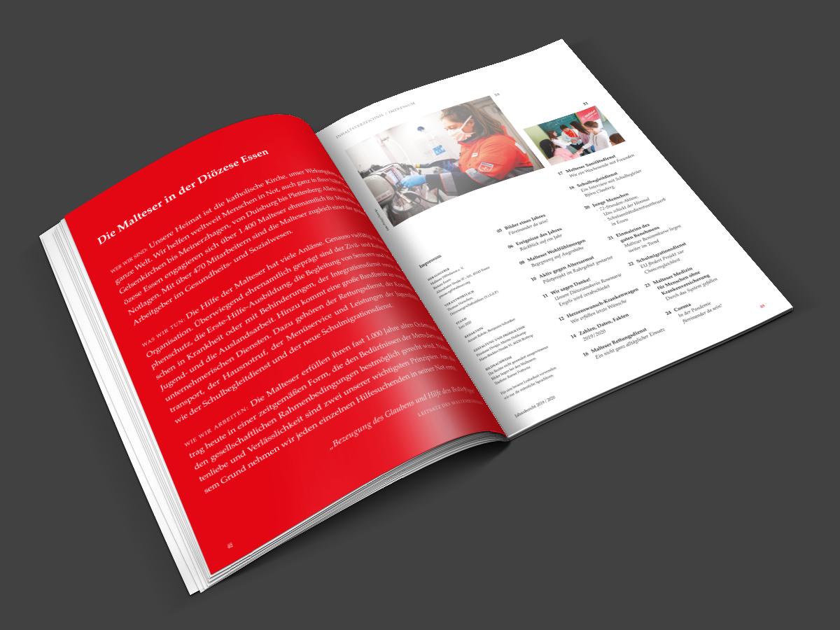 Malteser Jahresbericht 2019/2020
