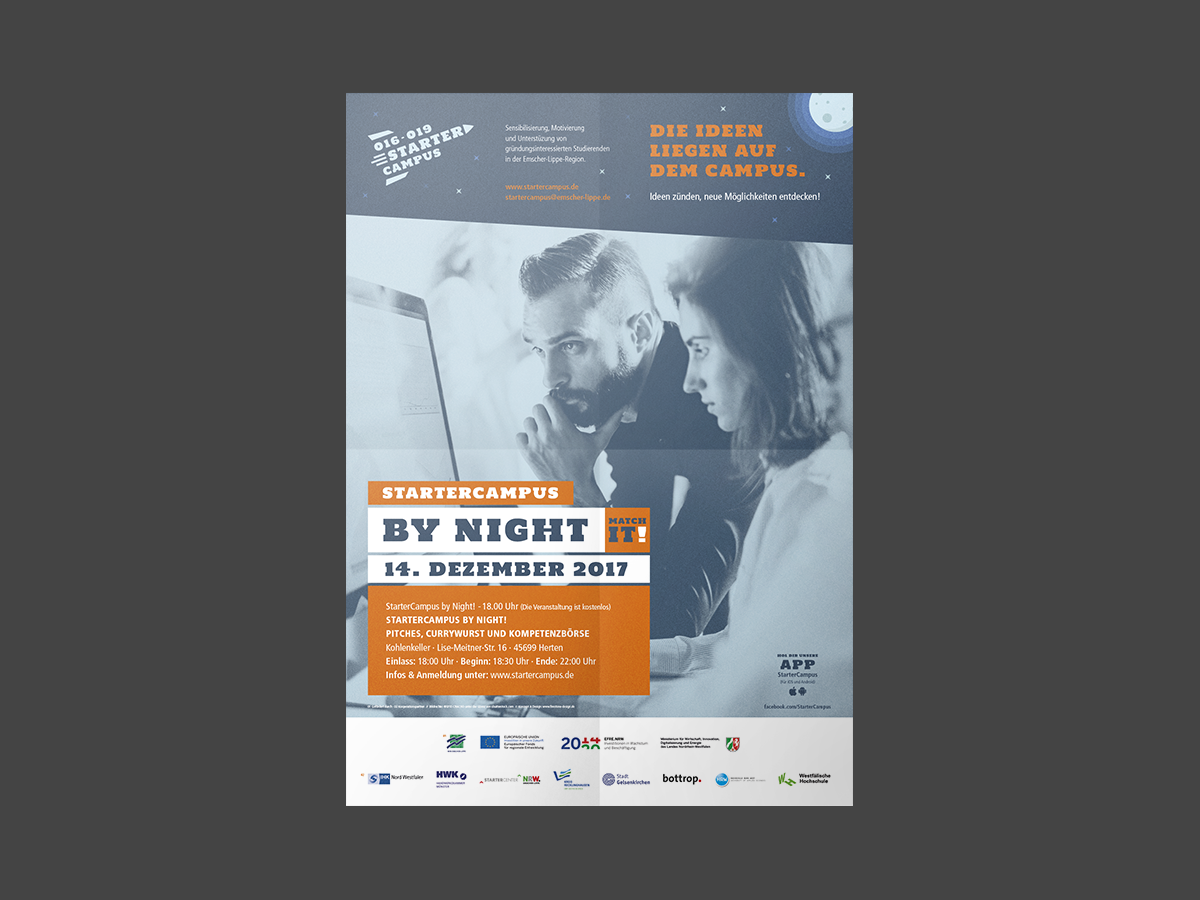 StarterCampus-Plakat