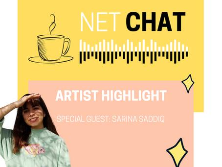 NetChat Sessions☕️ Sarina Saddiq