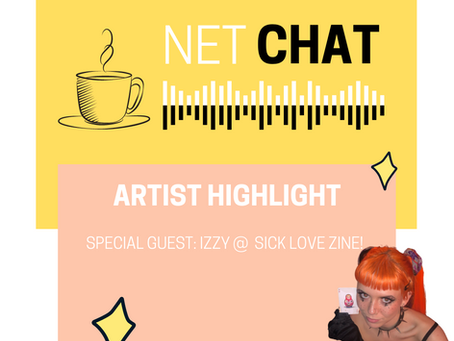 NetChat Sessions☕️ Izzy from Sick Love Zine