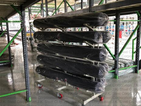 Fabric Roll Trolley (8 Rolls)