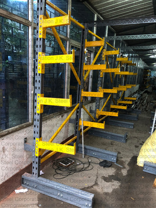Cantilever Racking for Bar & Tube Storage