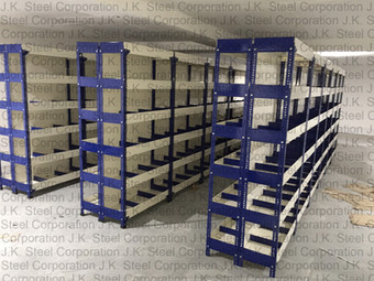 Partial Partition Plate Slotted Angle Racking