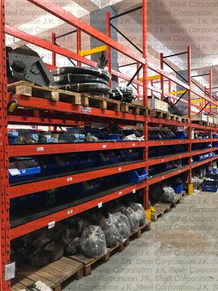 Mixed Heavy Duty Racking - Pallet & Shelf Loading