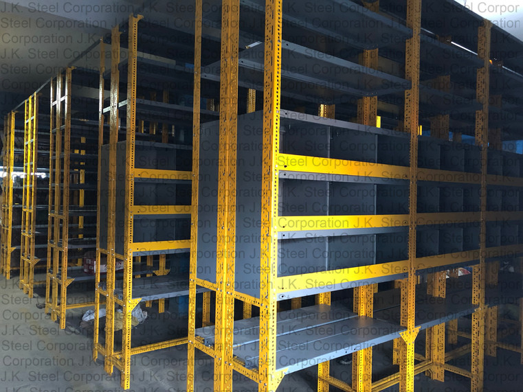 Heavy Duty Slotted Angle Racking