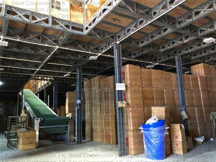 Slotted Angle Mezzanine Flooring
