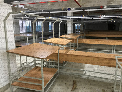 Checking Tables with Centre Line Tables (Textile Industry)