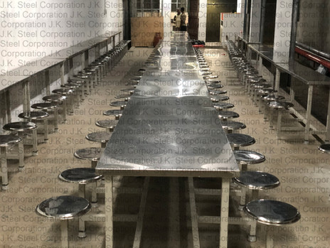 SS Cafeteria Table (MS Frame/SS Top)