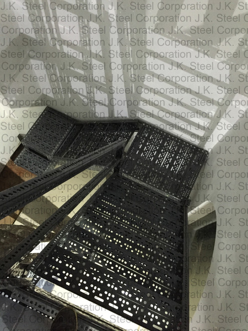 Slotted Angle Staircase for Goods Movement