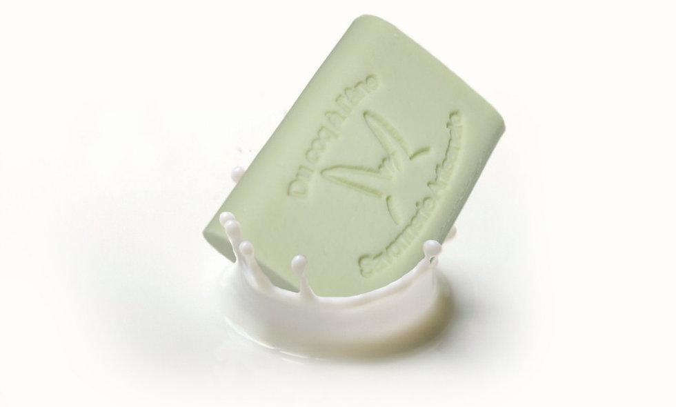 Argile Verte, savon au lait frais & cru d'ânesse