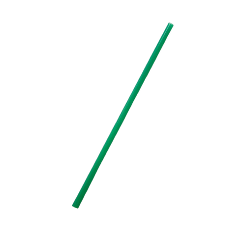 "Celise 7.75"" Jumbo Evergreen EcoStraws - Unwrapped"