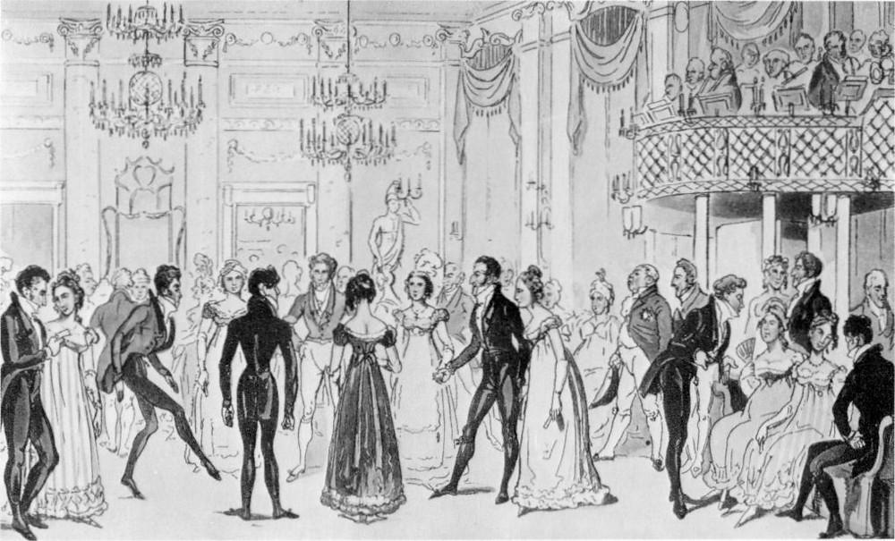 1800 society illustration