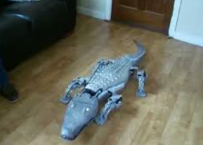 Christoper the croco-droid