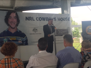 Cowboys House open at last. No room for Joey.