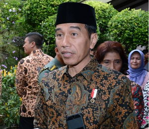Widodo: Does he have the face of an alligator?