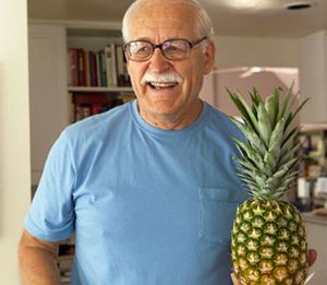 President of the Tolga Termites, Bert Young