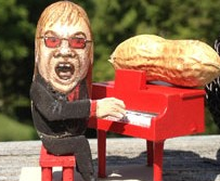 Elton as a peanut