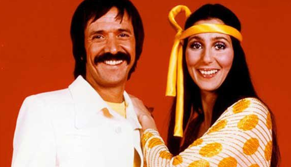 Sonny and Cher in happier times before Cher saw the lyric sheet