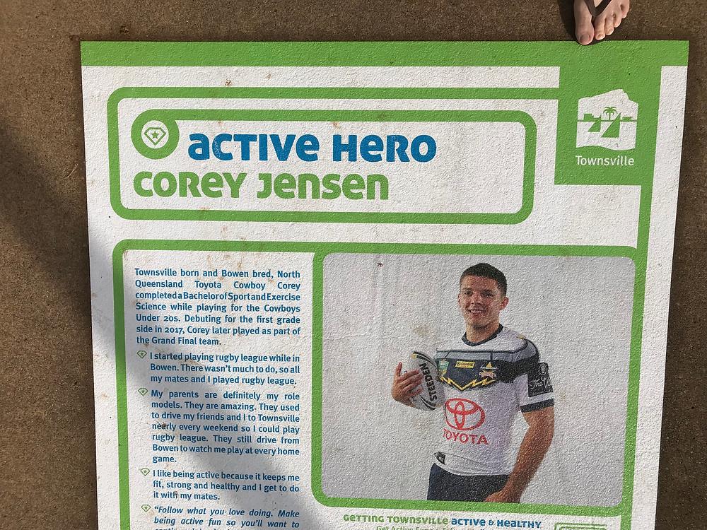 Jensen honoured