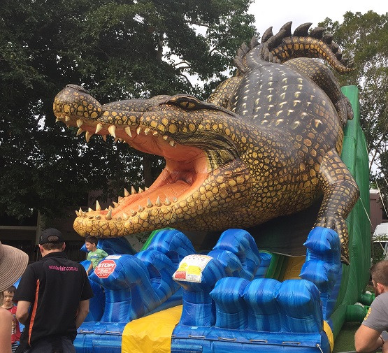 Fucking massive croc at the Freshie Fete