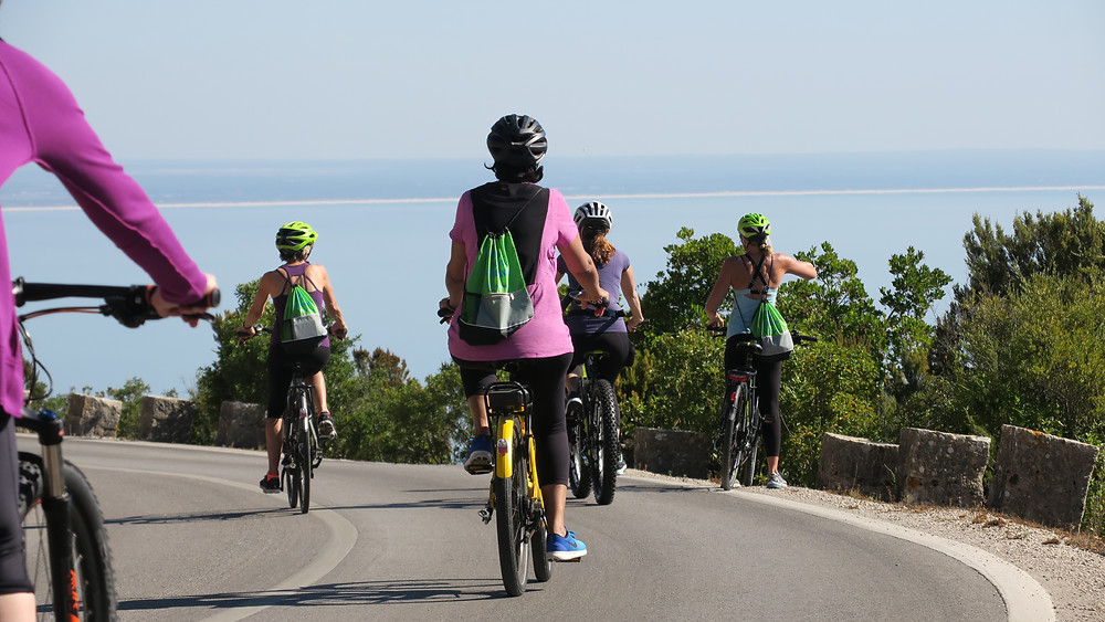 Group bike ride in portugal with Cycling Lisbon