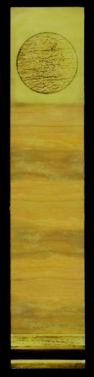 Tar Landscape with Jade Sky