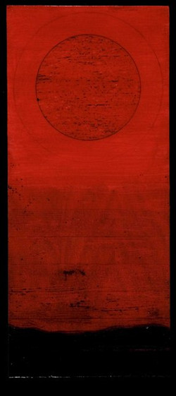 wood - Tar Landscape with Red Sky 3. 8 by 19 inches. web.jpg