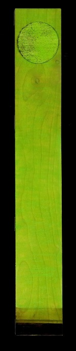 wood - Tar landscape with Bright Green Sky. 6 by 36 inches.md.jpg