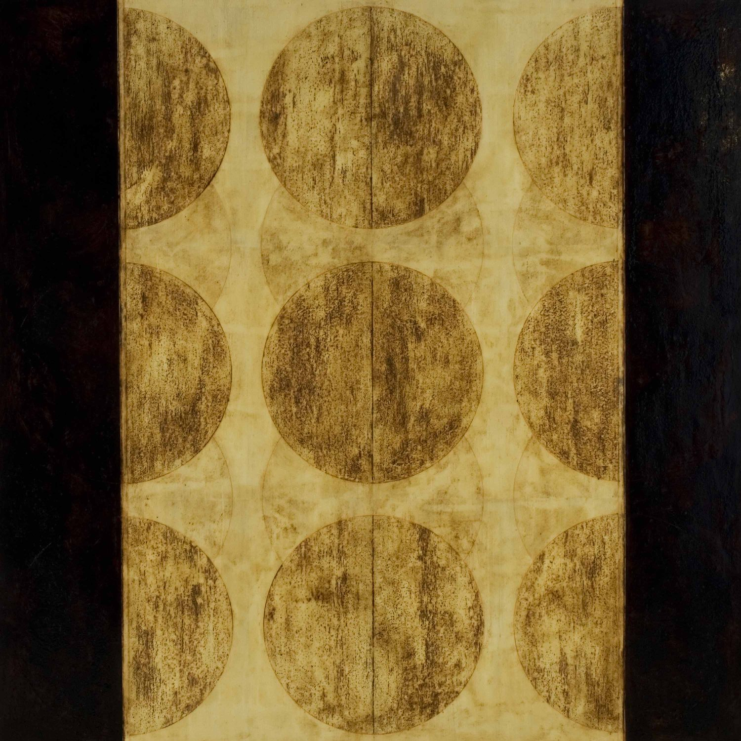 Marco Logsdon.Untitled 2108.Oil, Tar, Beeswax on Panel. 48 inches square.jpg