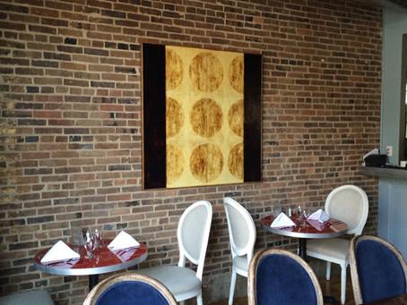 Bour-Bon Restaurant (Paris) Features Logsdon Art