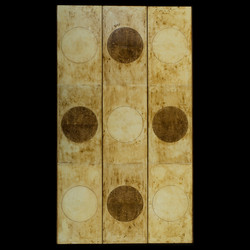 KY7 Entry 4. Marco Logsdon.Untitled 2308. Oil, tar, beeswax on reclaimed Panel.