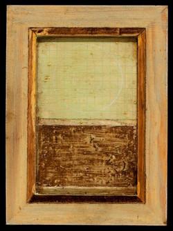 Marco Logsdon. 4 by 6. Blue. 1. Oil and Tar on Balsa Wood in Ikea Frame..jpg