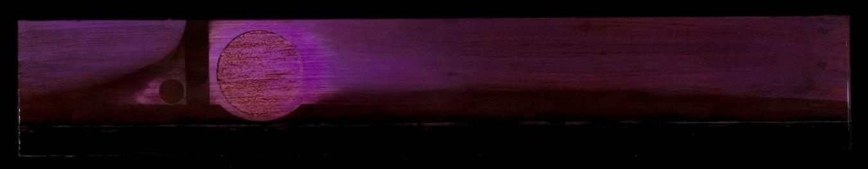 Marco Logsdon. Tar Landscape with Violet Sky..jpg
