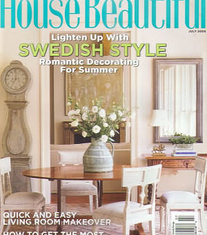 Logsdon Painting Featured in House Beautiful Article