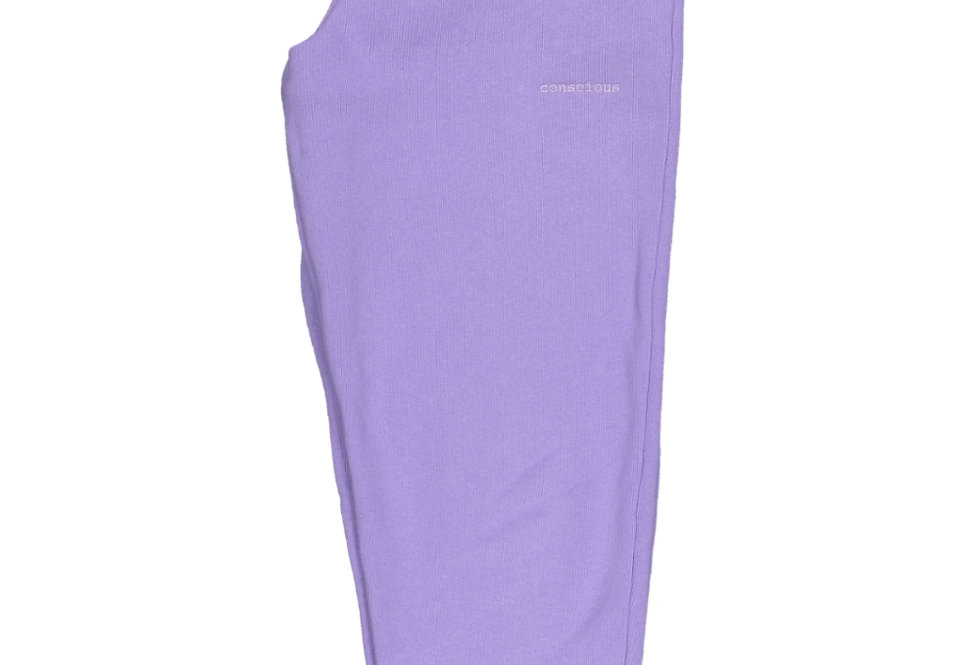 ORGANIC COTTON TRACKPANTS IN FRESH LILAC