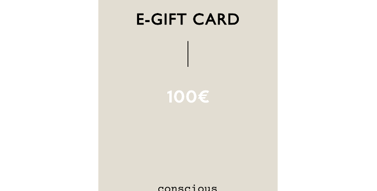 CONSCIOUS E-GIFT CARD