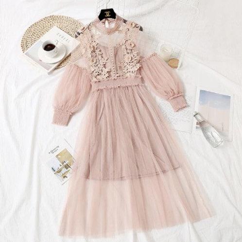 №54 платье нежно-розовое