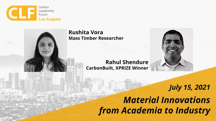 July 15, 2021 - Material Innovations from Academia to Industry