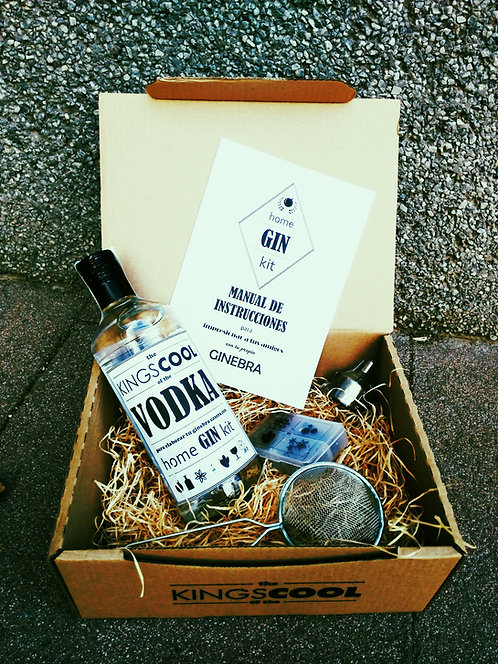 HOME GIN KIT - VODKA INCLUIDO