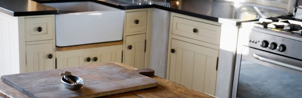 Hand Painted Kitchen cabinets, Bicester