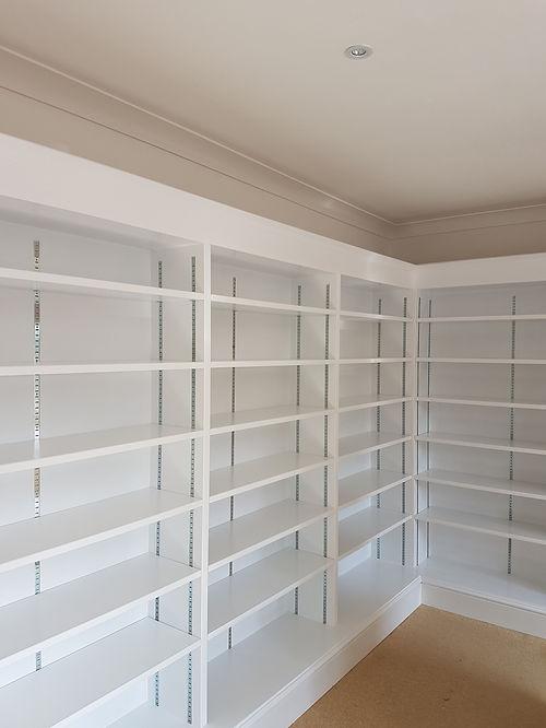 Bespoke bookcase, Bicester